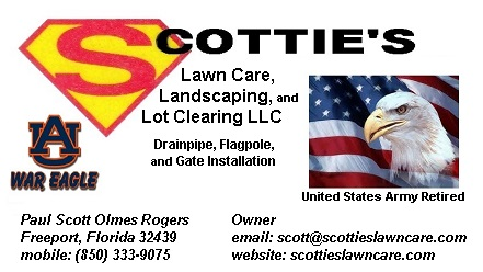 Scottie's Lawn Care, Landscaping, and Lot Clearing LLC